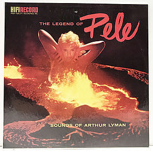 レコード画像:ARTHUR LYMAN / The Legend Of Pele