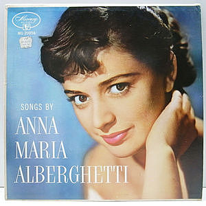 レコード画像:ANNA MARIA ALBERGHETTI / Songs By