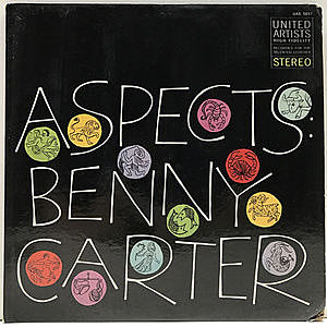 レコード画像:BENNY CARTER / Aspects