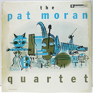 レコード画像:PAT MORAN / The Pat Moran Quartet