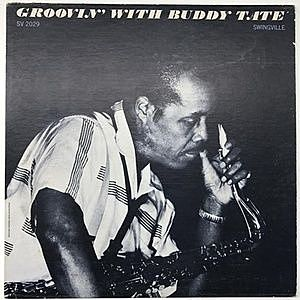 レコード画像:BUDDY TATE / Groovin' With Buddy Tate
