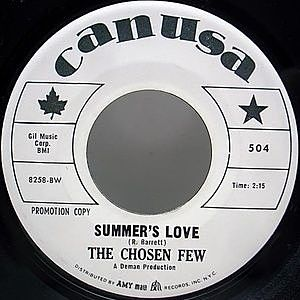 レコード画像:CHOSEN FEW / Summer's Love / Hey Joe