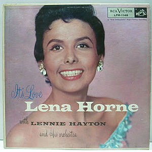 レコード画像:LENA HORNE / It's Love