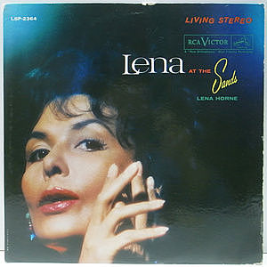 レコード画像:LENA HORNE / Lena At The Sands