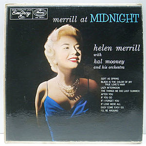 レコード画像:HELEN MERRILL / Merrill At Midnight