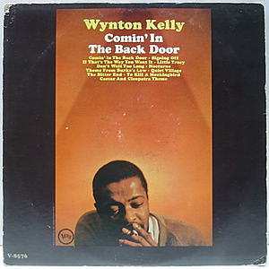 レコード画像:WYNTON KELLY / Comin' In The Back Door