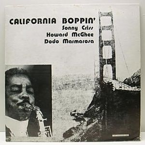レコード画像:SONNY CRISS / California Boppin'
