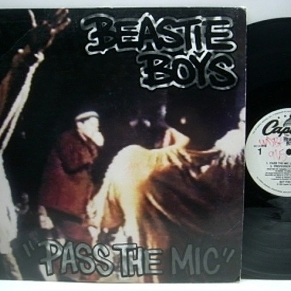 レコードメイン画像:US PROMO 12 / BEASTIE BOYS Pass The Mic / CHECK YOUR HEAD