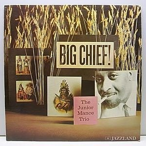 レコード画像:JUNIOR MANCE / Big Chief