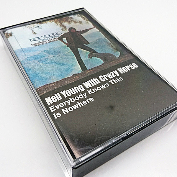 レコードメイン画像:NEIL YOUNG WITH CRAZY HORSE Everybody Knows This Is Nowhere (Reprise '78) ニール・ヤング / CASSETTE TAPE/カセット テープ