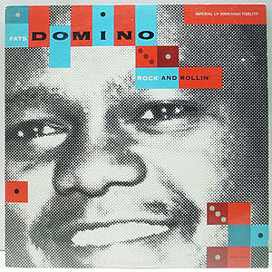 レコード画像:FATS DOMINO / Fats Domino Rock And Rollin'