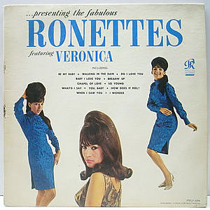 レコード画像:RONETTES / Presenting The Fabulous Ronettes Featuring Veronica
