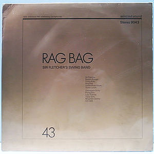 レコード画像:SIR FLETCHER'S SWING BAND / Rag Bag