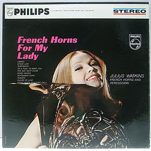 レコード画像:JULIUS WATKINS / French Horns For My Lady