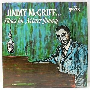 レコード画像:JIMMY McGRIFF / Blues For Mister Jimmy