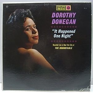 レコード画像:DOROTHY DONEGAN / It Happened One Night