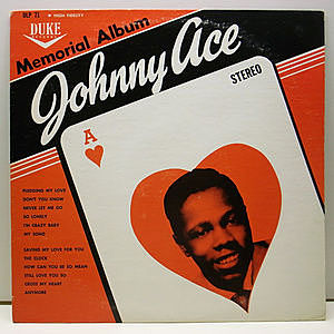 レコード画像:JOHNNY ACE / Memorial Album For