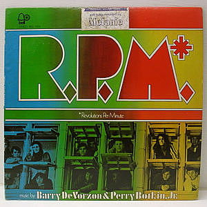 レコード画像:BARRY DEVORZON / PERRY BOTKIN JR. / R.P.M.