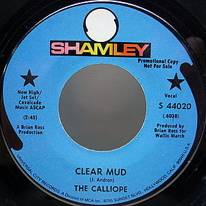 レコード画像:CALLIOPE / Clear Mud