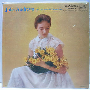 レコード画像:JULIE ANDREWS / The Lass With The Delicate Air