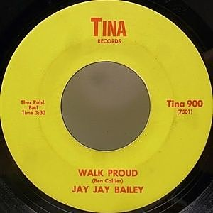レコード画像:JAY JAY BAILEY / Walk Proud