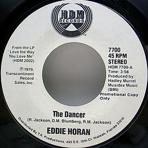 レコード画像:EDDIE HORAN / The Dancer