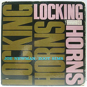 レコード画像:JOE NEWMAN / ZOOT SIMS / Locking Horns