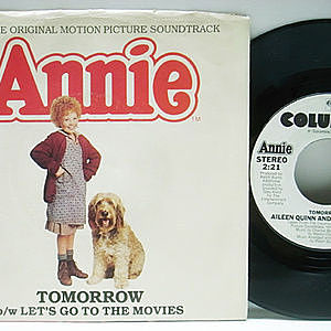 レコード画像:AILEEN QUINN / ORPHANS / Annie / Tomorrow