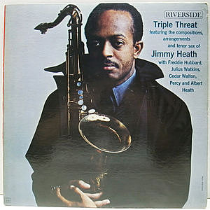 レコード画像:JIMMY HEATH / Triple Threat