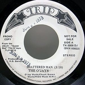 レコード画像:O'JAYS / Shattered Man