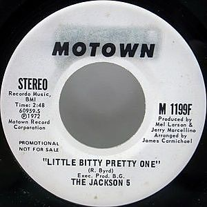レコード画像:JACKSON 5 / Little Bitty Pretty One