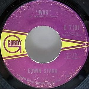 レコード画像:EDWIN STARR / War / He Who Picks A Rose