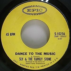 レコード画像:SLY & THE FAMILY STONE / Dance To The Music / Let Me Here It From You