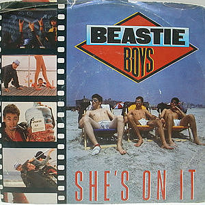 レコード画像:BEASTIE BOYS / She's On It
