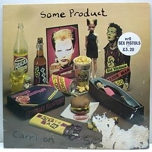 レコード画像:SEX PISTOLS / Some Product Carri On