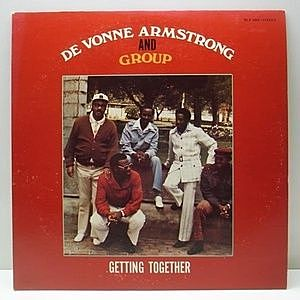 レコード画像:DE VONNE ARMSTRONG AND GROUP / Getting Together