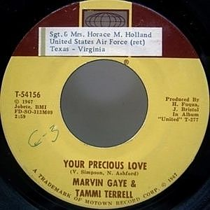 レコード画像:MARVIN GAYE & Tammi Terrell / Your Precious Love