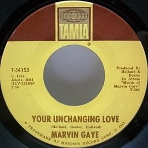 レコード画像:MARVIN GAYE / Your Unchanging Love / I'll Take Care Of You