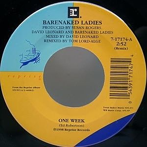 レコード画像:BARENAKED LADIES / One Week