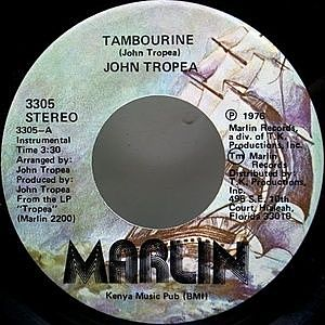 レコード画像:JOHN TROPEA / Tambourine / The Jingle