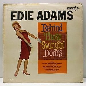 レコード画像:EDIE ADAMS / Behind Those Swingin' Doors