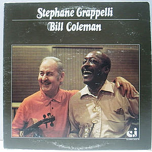 レコード画像:STEPHANE GRAPPELLI / BILL COLEMAN / Same