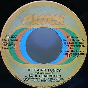 レコード画像:SOUL SEARCHERS / If It Ain't Funky