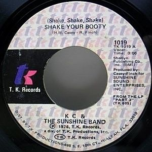 レコード画像:KC & THE SUNSHINE BAND / (Shake, Shake, Shake) Shake Your Booty / Boogie Shoes