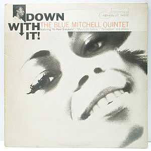 レコード画像:BLUE MITCHELL / Down With It