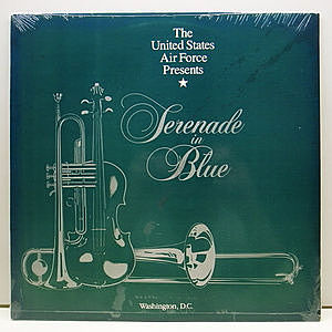 レコード画像:WASHINGTON US AIR FORCE JAZZ BAND / Serenade In Blue