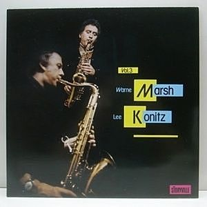 レコード画像:WARNE MARSH, LEE KONITZ / Jazz Exchange Vol.3