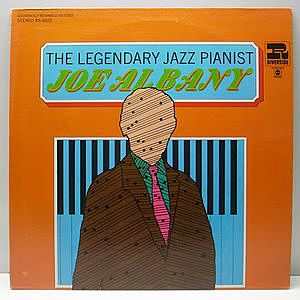 レコード画像:JOE ALBANY / The Legendary Jazz Pianist