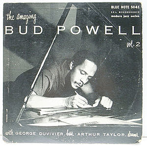 レコード画像:BUD POWELL / The Amazing Bud Powell, Volume 2
