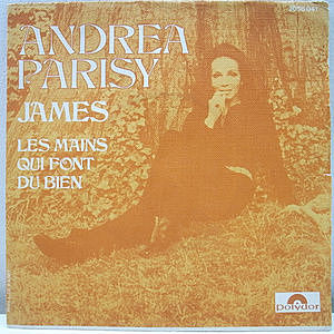 レコード画像:ANDREA PARISY / James / Les Mains Qui Font Du Bien